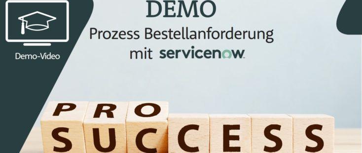 ServiceNow, Demo-Video ServiceNow – An dem Beispiel eines Lizenz-Anfrage-Prozesses