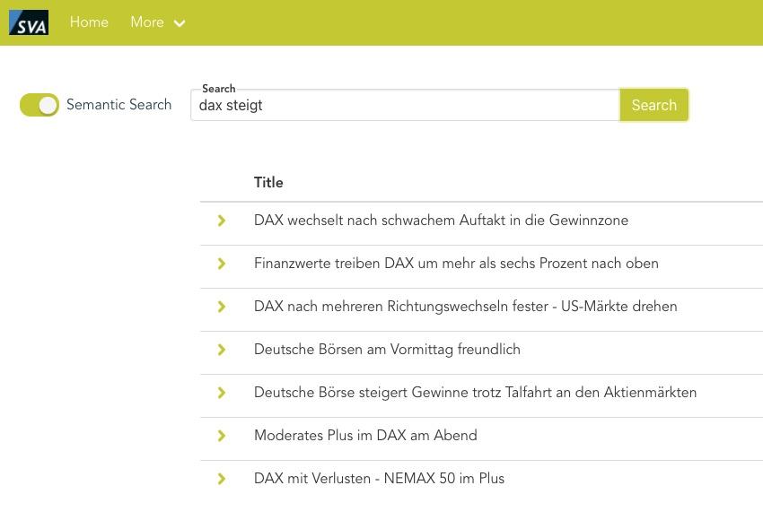 Semantic, Semantische Suche jetzt noch besser!