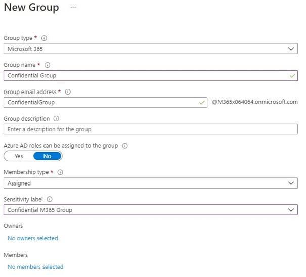 M365 Sensitivity Label, M365 Information Protection: Sensitivity-Labels und Teams